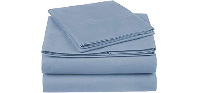 Pinzon Organic Cotton Sheets - Pack of 4 100% Organic Cotton Sheets