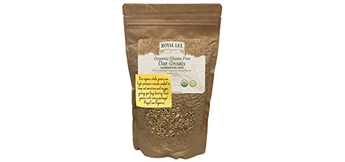 Royal Lee Organics USDA Certified - Whole Grain Organic Oatmeal