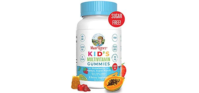 Vegan Kids Gummies - Organic Multivitamin for Kids