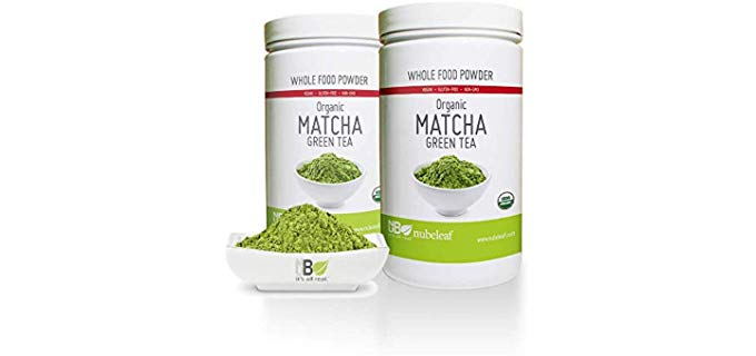Nubeleaf Organic Matcha Green Tea Powder - Premium Matcha Powder