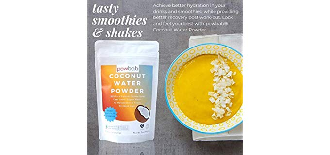 Powbab Powder - Organic Coconut Water Powder