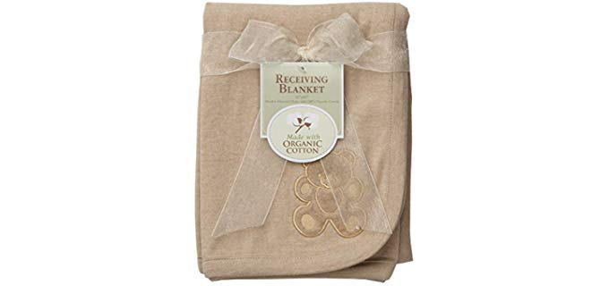 American Baby Company Embroidered - Swaddle Blanket