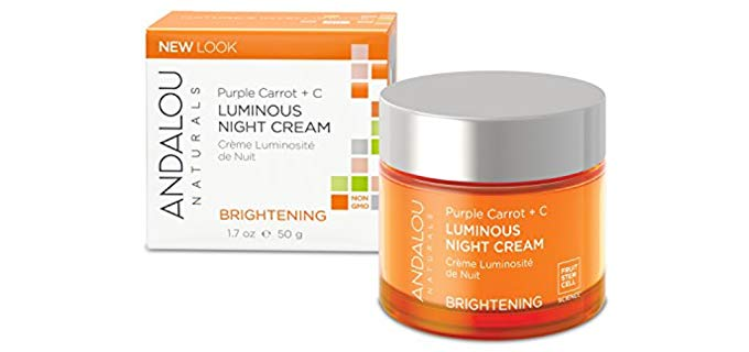Andalou Naturals Luminous - Purple Carrot + C Night Cream