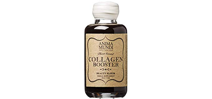 Anima Mundi Apothecary Collagen Booster Elixir - Adaptogenic Beauty Boosting Herbal Supplement