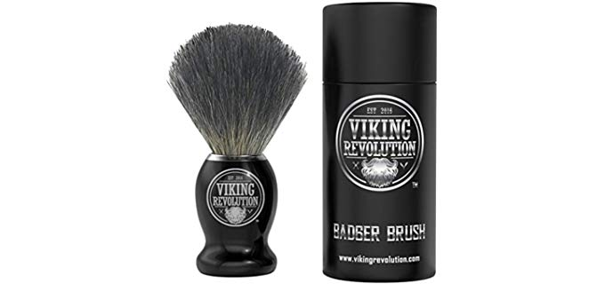 Vikings Blade Badger Hair Shaving Brush - Shave Brush for Wet Shave