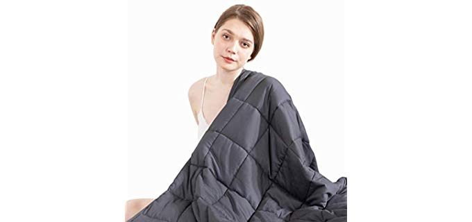 Beauty Kate Polyester - Organic Cotton Odorless Blanket