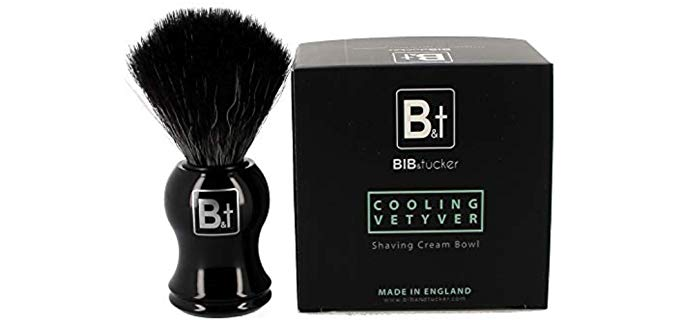 Bib & Tucker Men Shave Care - Vegan Synthetic Brush