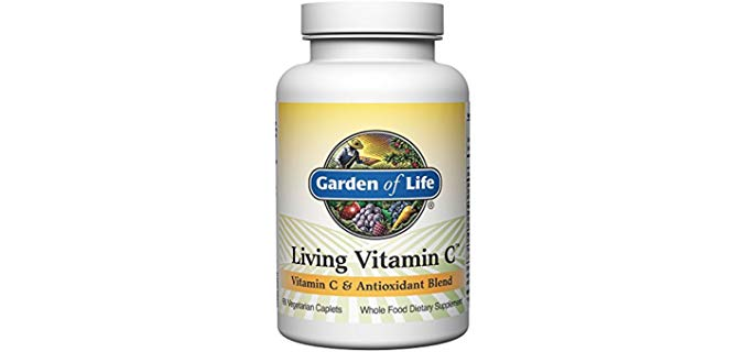 Garden of Life Vitamin C Supplement - Living Vitamin and Antioxidant Caplets