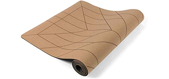 Lotuscrafts Cork Yoga Mat - Eco Friendly Non-Slip Yoga Mat
