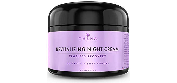 THENA Natural Wellness Revitalizing - Organic Night Cream