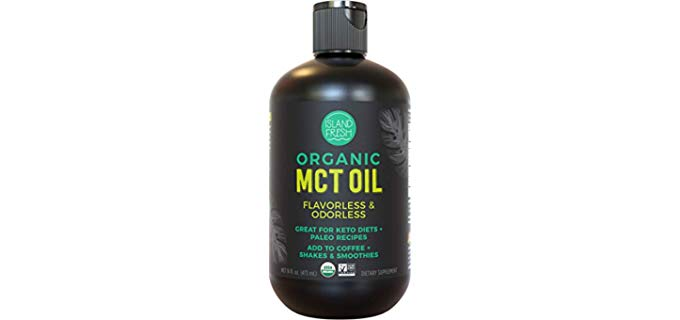 Island Fresh MCT Oil - For Morning Coffee