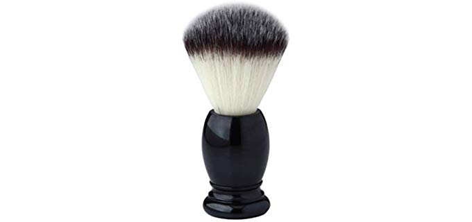 Pearl Shaving Synthetic Shaving Brush - Men's Luxury Professional Hair Salon