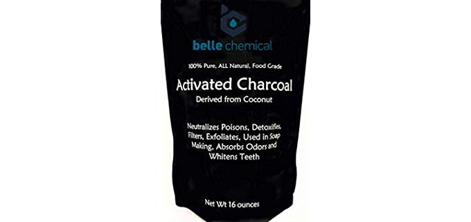 Belle Chemical Kosher - Organic Coconut Activated Charcoal Powder