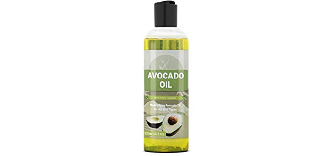 Pure Organic Ingredients All-natural - Organic Avocado Oil