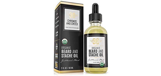 Chronos And Creed Premium Organic - Leave-in Beard Oil