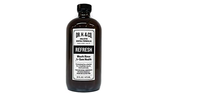 Dr. H. & Co. Herbal - Organic Mouth Rinse for Healthy Gums