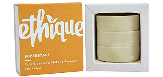 Ethique Multi-Purpose Bar - Makeup Removing and Cleansing Bar