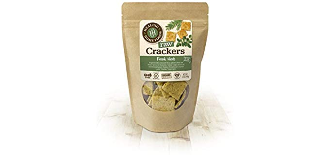 Healing Home Foods Fresh - Organic Herb Raw Crackers