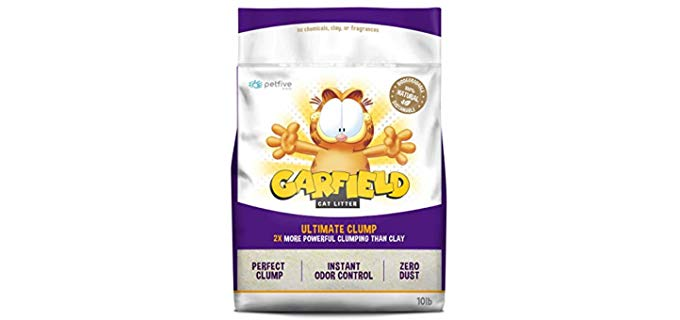 Garfield Cat Litter Ultimate Clump - Organic Sustainable Cat Litter