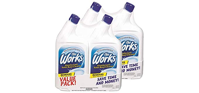 Home Care The Works - Toilet Bowl Cleaner