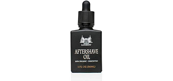 Maison Lambert Unscented - Organic Aftershave Oil for Men