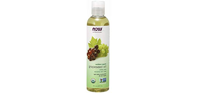NOW Foods Solutions Organic - Grapeseed Oil