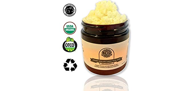 Oslove Organics Facial Scrub - With Neem and Turmeric