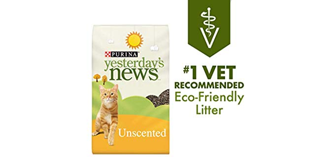 Purina Yesterday's News Paper - Recycled Cat Litter