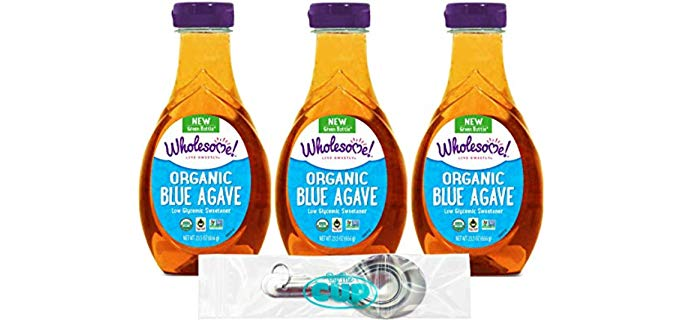 By The Cup Wholesome - Organic Blue Agave Nectar Syrup