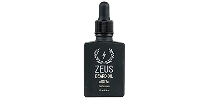 ZEUS Natural Oils - Beard Oil with Sandalwood