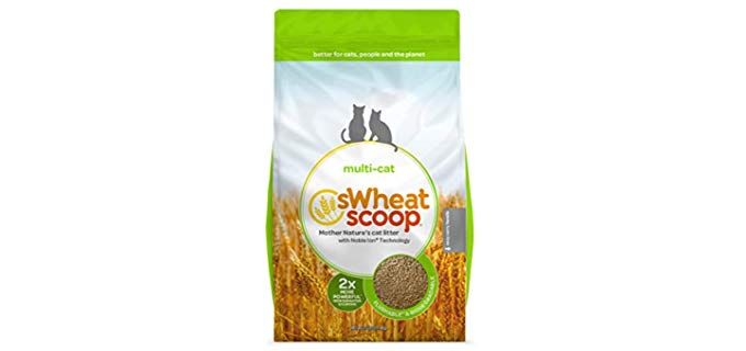 sWheat Scoop Multi-Cat - Organic Cat Litter