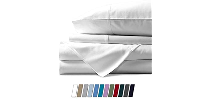 Mayfair Linen Sateen Weave - Organic Cotton Fitted Sheets