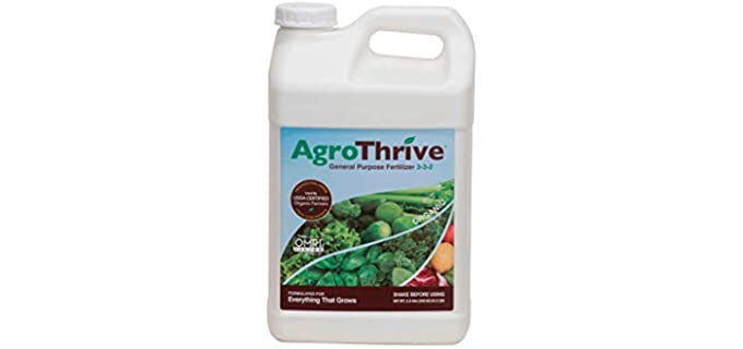 AgroThrive 3-3-2 - Organic LAwn Fertilizer