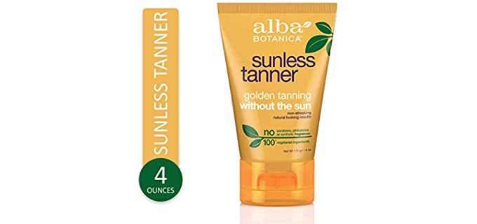 Alba Botanica Sunless - Self Tanner Lotion