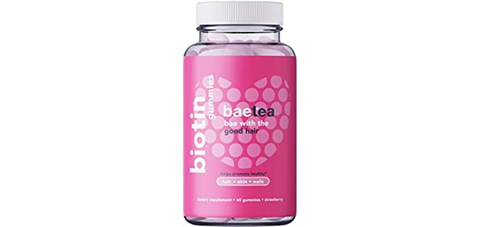 Baetea Strawberry - Organic Biotin Gummies