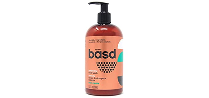 basd Moisturizing - Organic Invigorating Mint Body Wash