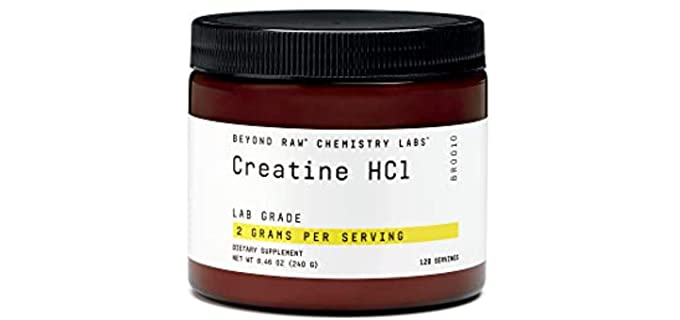 Beyond Raw Chemistry Labs - Organic Creatine Supplement