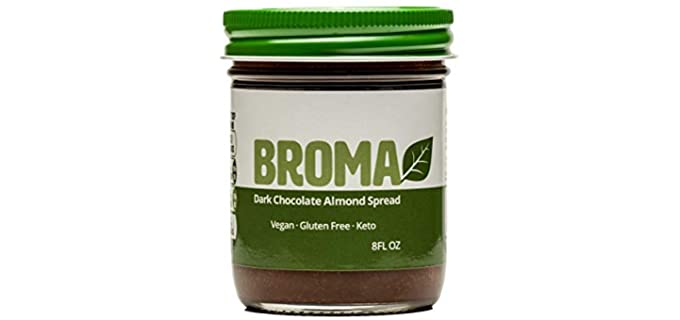 Broma Dark Chocolate - Organic Almond and Chocolate Butter
