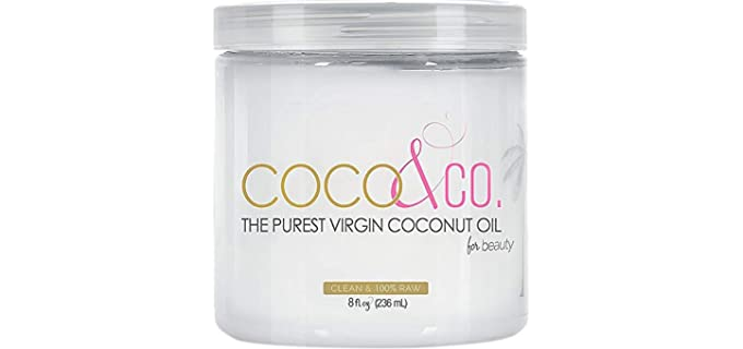 COCO & CO The Purest - Organic Extra Virgin Coconut Oil