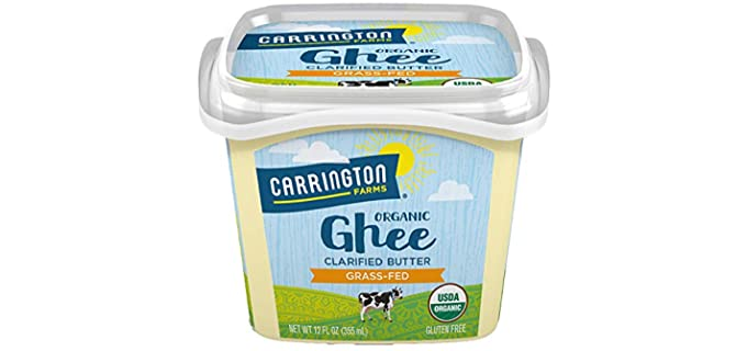 Carrington 100% Grass-fed - Cultured Brown Butter Ghee & Cultured Ghee