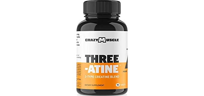 Crazy Muscle Keto Friendly - Organic Creatine Supplement