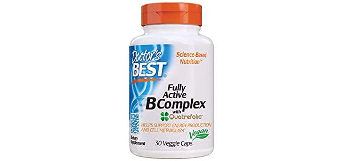 Doctor's Best Fully Active - Organic Vitamin B Complex Multivitamins