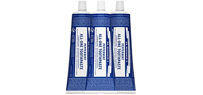 Dr. Bronner's All-One - Organic Peppermint Toothpaste