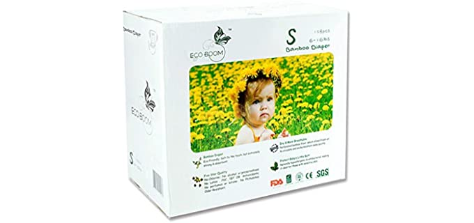 Eco boom Natural - Baby Bamboo Diapers