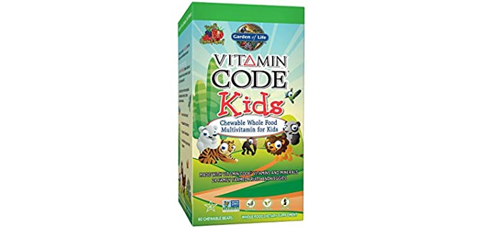 Garden of Life Vitamin Code - Suppliments for Toddlers