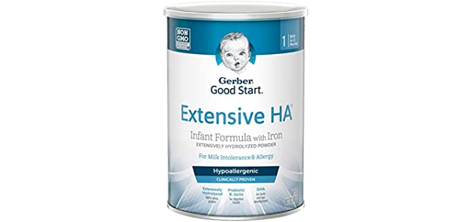 Gerber Good Start Powder - Organic Infant Formula with Iron