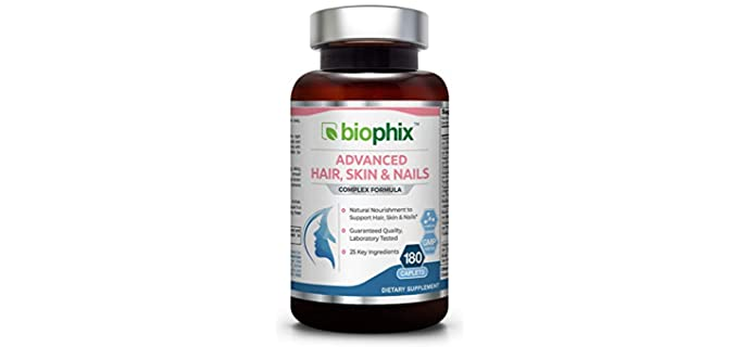 Biophix Anti-Aging - 10000 mcg Organic Biotin Supplement