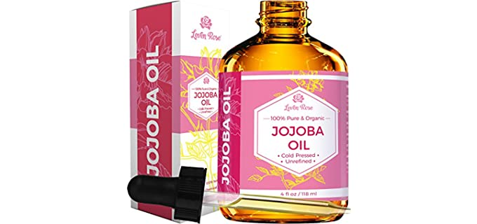 Leven Rose 100% Pure - Unrefined Organic Jojoba Oil