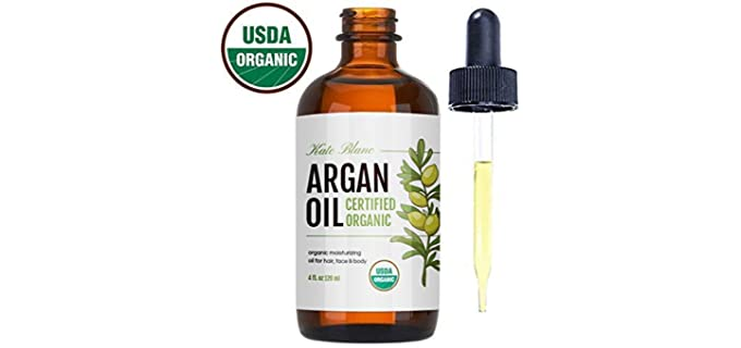 Kate Blanc Cosmetics Certified Organic - Moisturizing Organic Argan oil