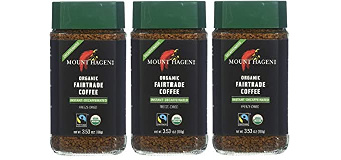 Mount Hagen Freeze Dried - Organic Decaf Coffee